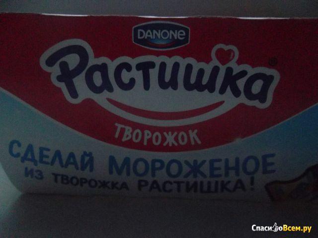 """Творожок Растишка Danone """"Лесные ягоды+Персик-груша"""" фото"""
