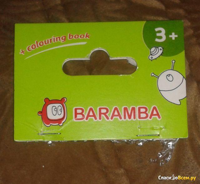 Карандаши пластиковые Baramba + раскраска арт. B96208 фото