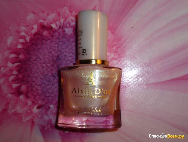 Лак для ногтей AlvinD'or Paris №076 фото