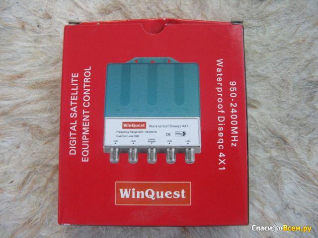 Коммутатор WinQuest Waterproof DiSEqC 4x1