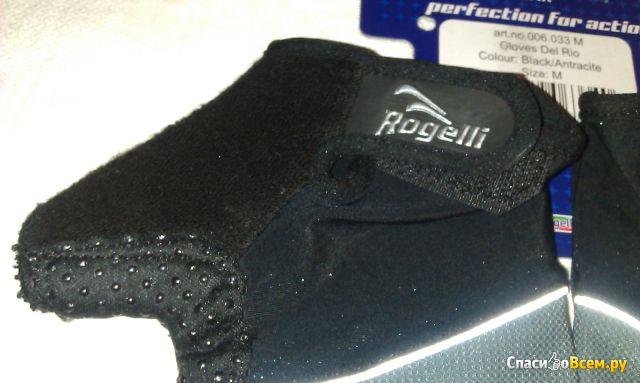 Перчатки Велосипедные Gloves Rogelli Del rio Сolour Biack/Antracite фото