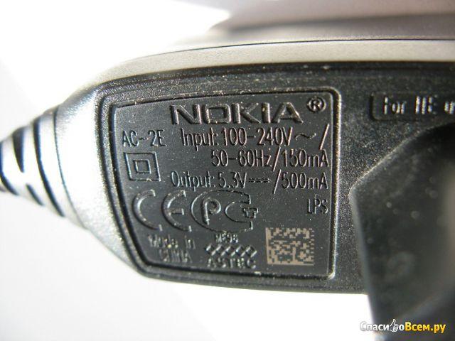 Зарядное устройство сетевое Nokia AC-2E фото