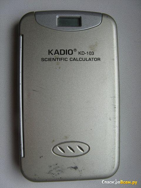 Калькулятор Kadio KD-103 Scientific Calculator фото