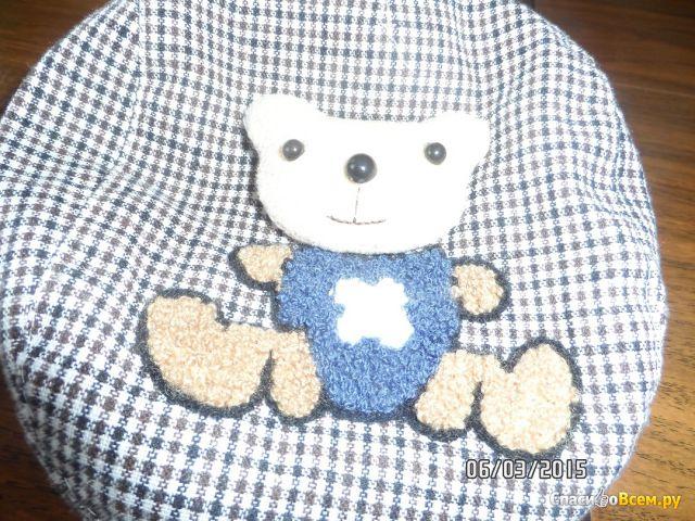 "Детская кепка-шотландка ""BabyLine"" арт. KH060R фото"