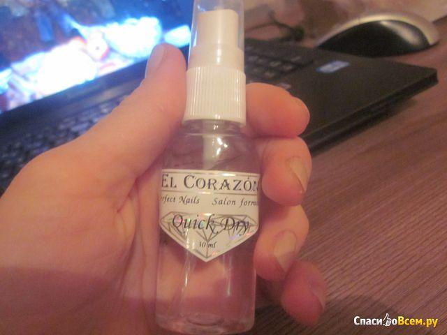 Сушка-спрей El Corazon Quick Dry с летучими силиконами