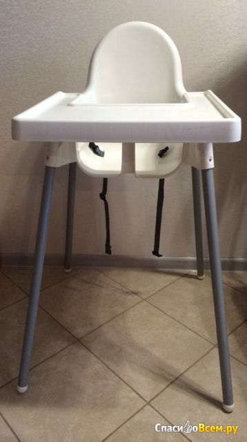 Детский стульчик для кормления Антилоп IKEA фото