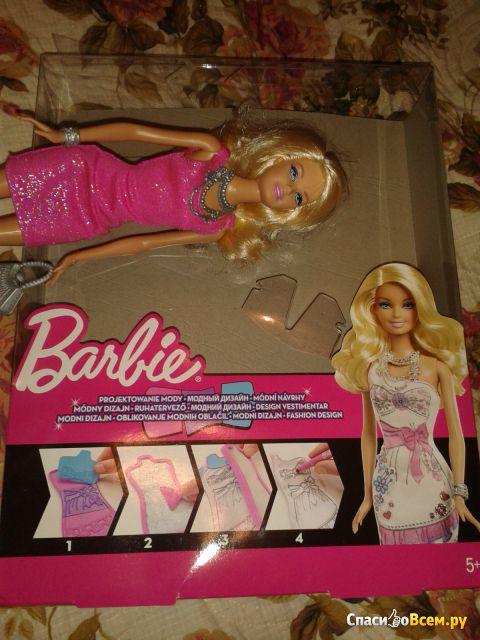 """Модная студия для создания сияющих нарядов """"Barbie"""" Mattel арт. 3725539 фото"""