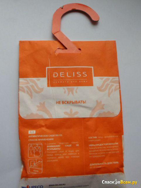 Саше ароматическое для белья Deliss Joy аромат яблока, акации и сицилийского лимона фото