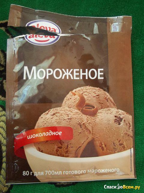 Десерт сухой для мороженого Aleva Шоколадный