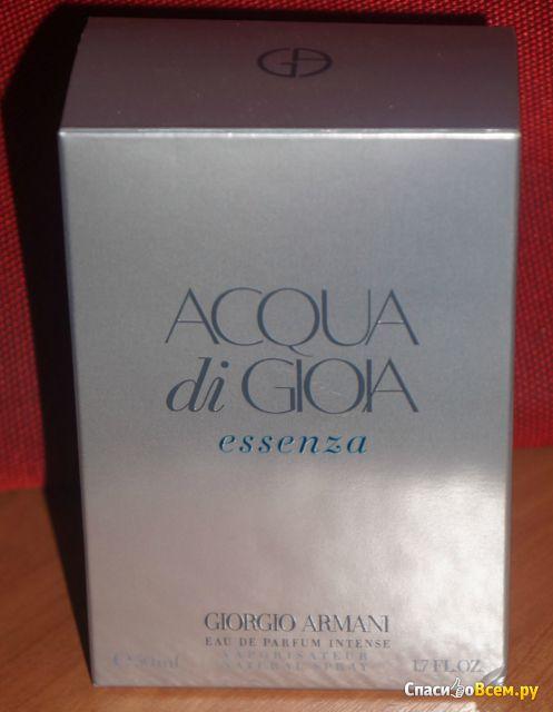 Парфюмированная вода Acqua di Gioia Essenza Giorgio Armani фото