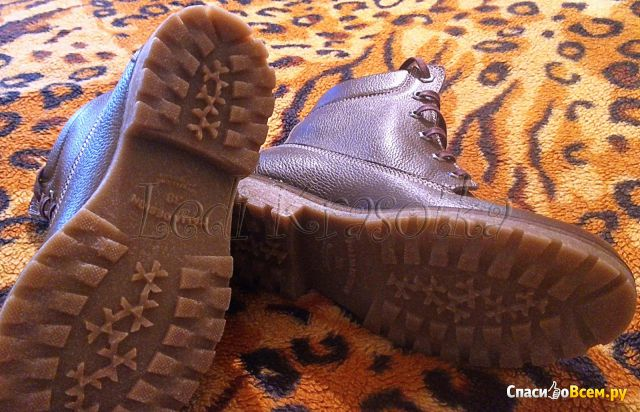 "Женские ботинки на шнурках Soldi ""Форест"" фото"