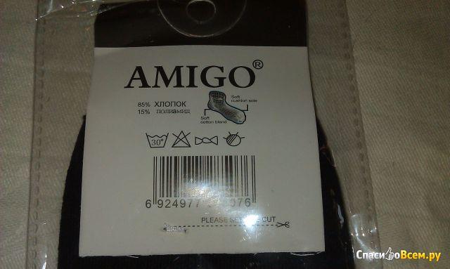 """Мужские носки """"Amigo"""" резинка с компрессионным эффектом"""