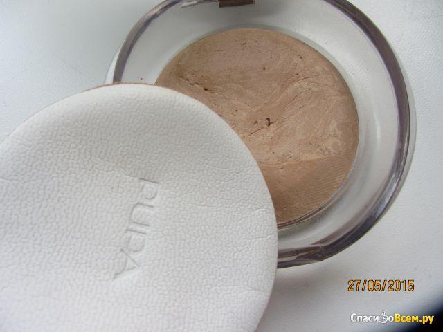 "Запеченная пудра ""Pupa Luminys Baked Face Powder"" фото"
