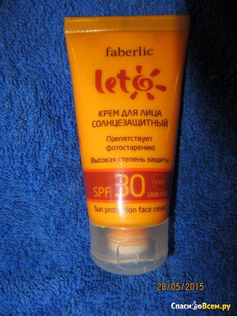 Крем для лица солнцезащитный Faberliс Leto Высокая степень защиты SPF 30 фото