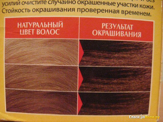 """Стойкая крем-краска для волос AcmeColor """"Рябина"""" 057 Натуральный кофе"""