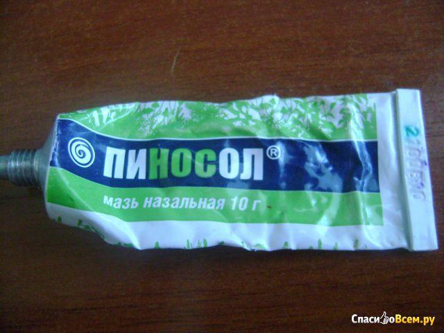 """Мазь назальная """"Пиносол"""" фото"""
