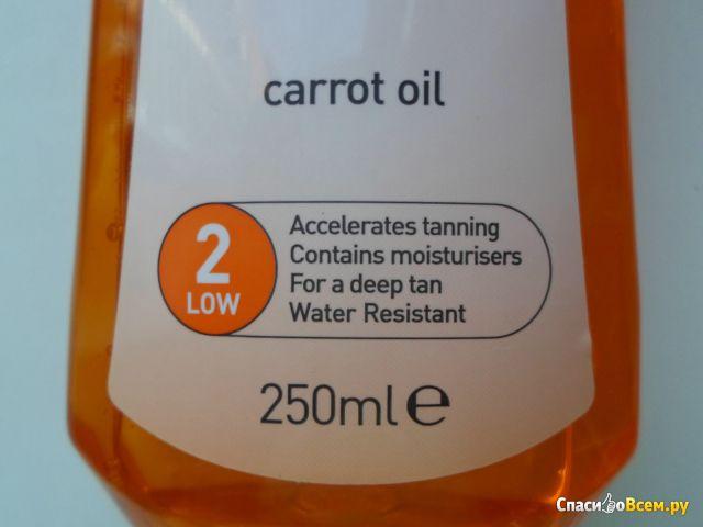 Масло для загара Calypso Deep Tan Carrot Oil фото