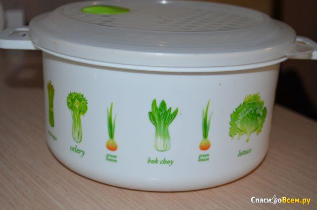 Емкость для холодильника и микроволновой печи с декором Phibo арт. 4311730 фото