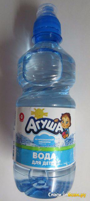 Вода агуша отзывы