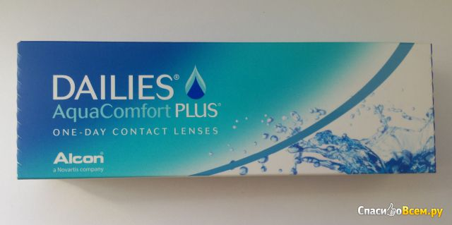 Контактные линзы Alcon Dailies AquaComfort Plus фото