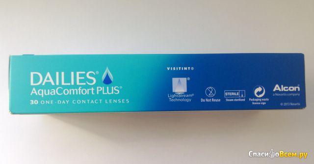 Контактные линзы Alcon Dailies AquaComfort Plus фото