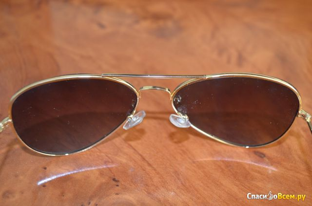 "Очки Beauty-Mart ""Newest Brand Designer Women Sunglasses Fashion Gradient Rimless Sunglasses Frog"""