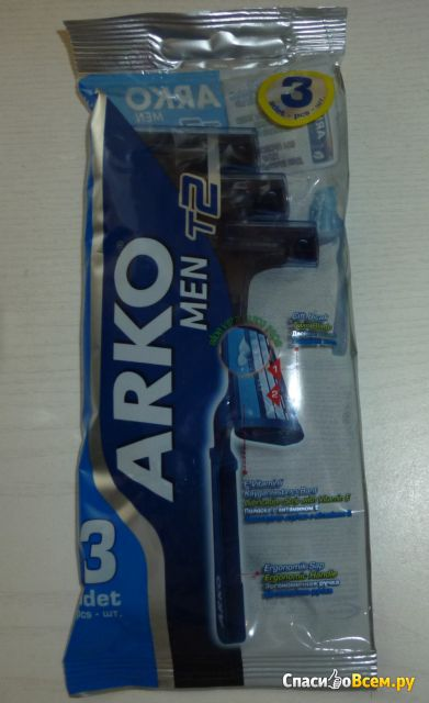 Бритвенные станки Arko Men T2 фото