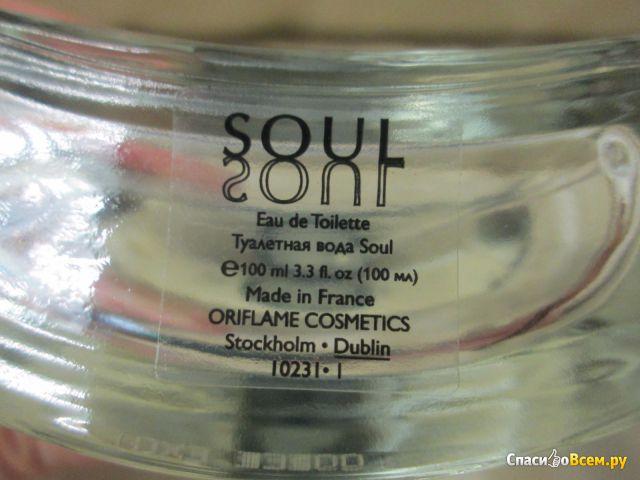 """Туалетная вода Oriflame """"Soul"""" фото"""