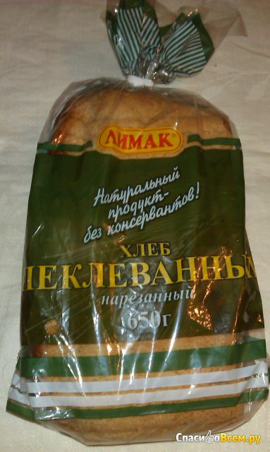 Хлеб «Пеклеванный» нарезной Лимак фото