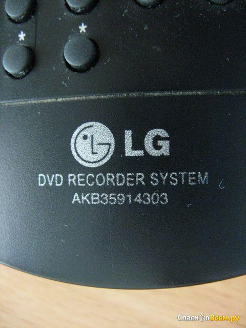Пульт управления LG DVD Recorder System AKB35914303 фото
