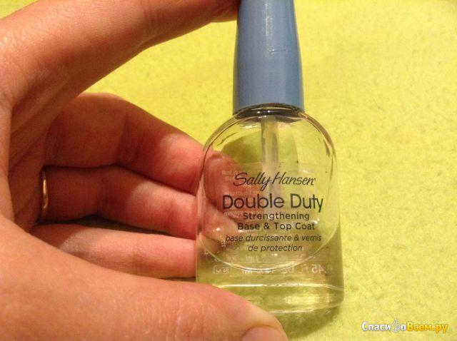 Покрытие для ногтей Sally Hansen Double Duty, укрепляющая основа и верхний слой
