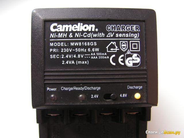 Зарядное устройство Camelion MW8168GS фото