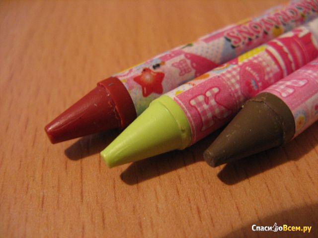 Мелки восковые Sanrio Disney Hello Kitty Wax Crayons арт. 8024 фото