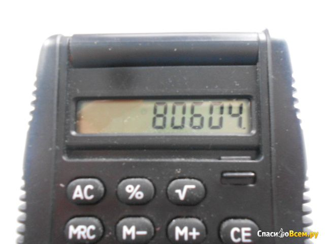 """Калькулятор карманный 8-разрядный """"Benko"""" фото"""