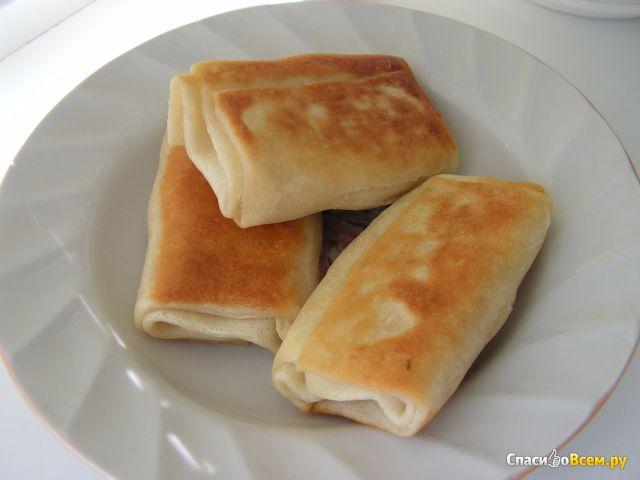 Блинчики «Fine Food» с картофелем и грибами фото