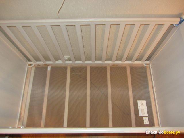 Детская кроватка Сундвик IKEA фото