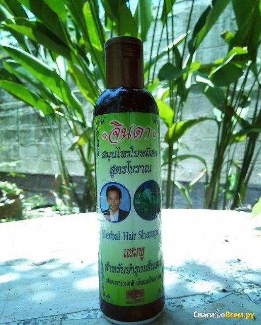 Шампунь от выпадения Jinda Herbal Hair Shampoo фото