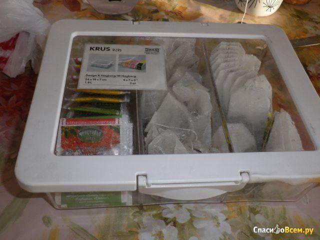 Контейнер+крышка д/сухих продуктов Крус IKEA фото