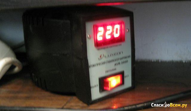 Автоматический регулятор напряжения релейного типа Luxeon AVR-500D фото