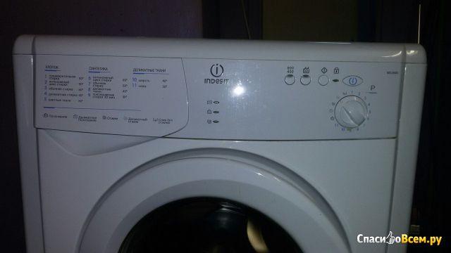 Узкая стиральная машина Indesit WIUN 81 фото
