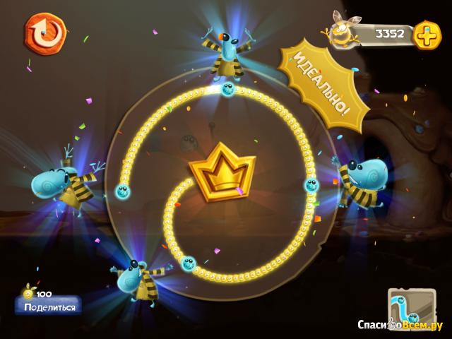 """Игра """"Rayman Fiesta Run"""" для iPad"""