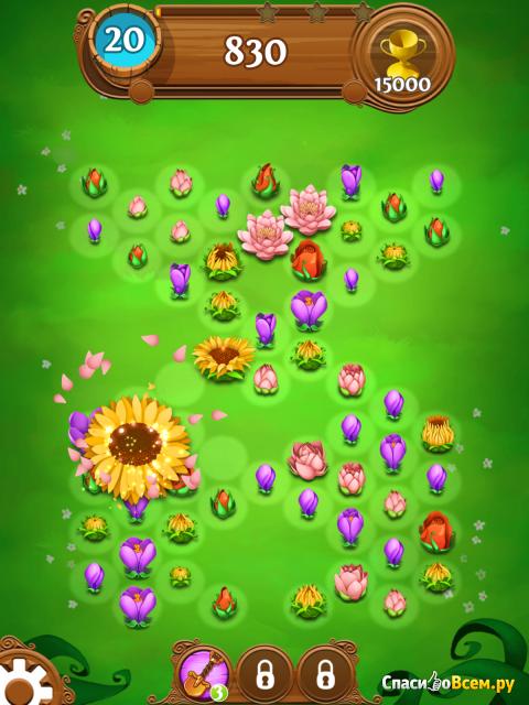 "Игра ""Blossom Blast Saga"" для iPad фото"