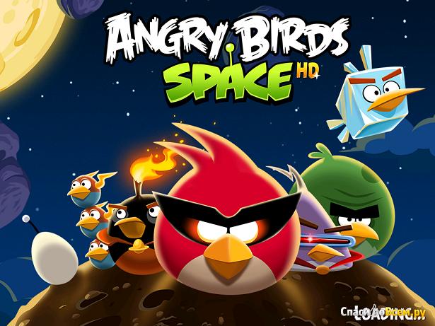 Игра Angry Birds Space HD для iPad фото