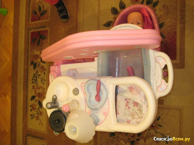Центр игровой Smoby большой по уходу за куклой Baby Nurse фото