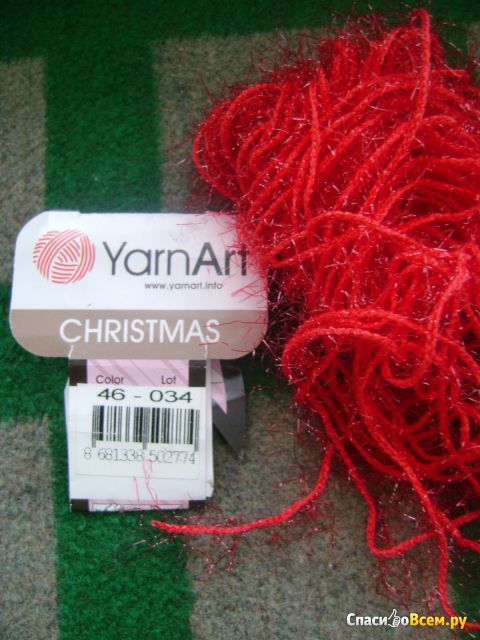Пряжа Yarnart Christmas фото
