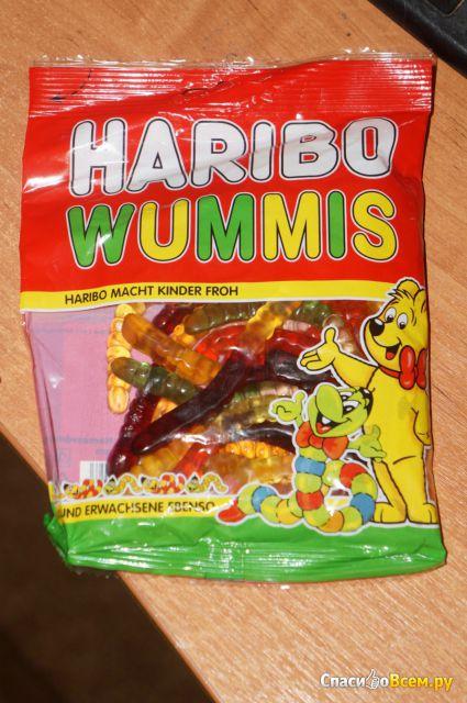 Жевательный мармелад HARIBO Wummis фото
