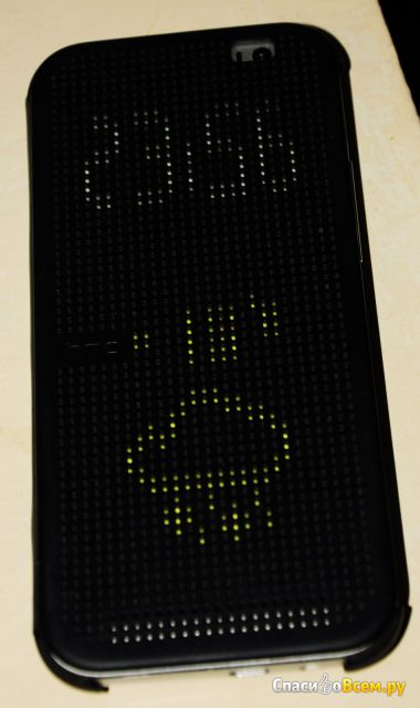 Чехол-книжка HTC Dot View для HTC One E8 фото