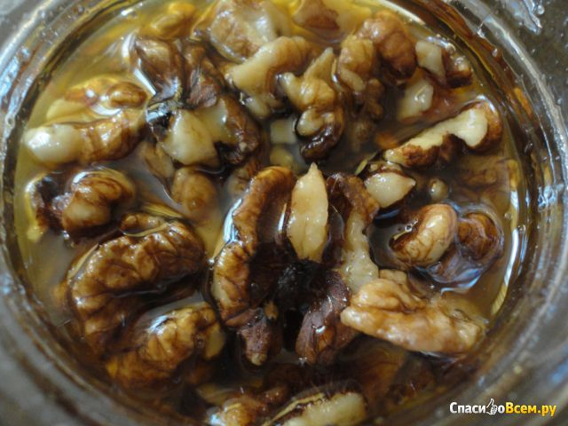 Орехи медом рецепт фото