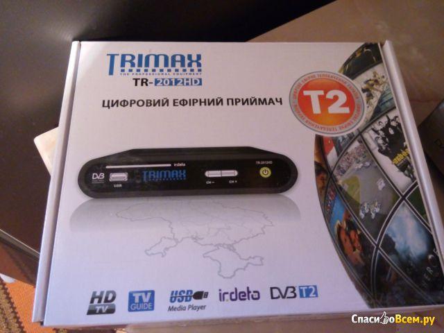 Цифровой эфирный приемник Т2 Trimax TR-2012HD фото