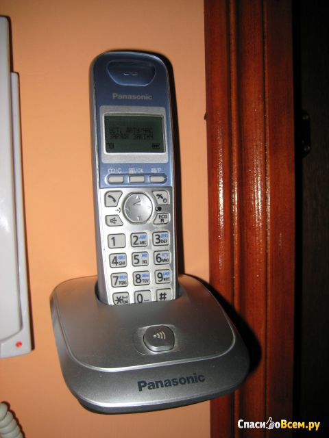 Беспроводной стационарный телефон Panasonic KX-TG2512